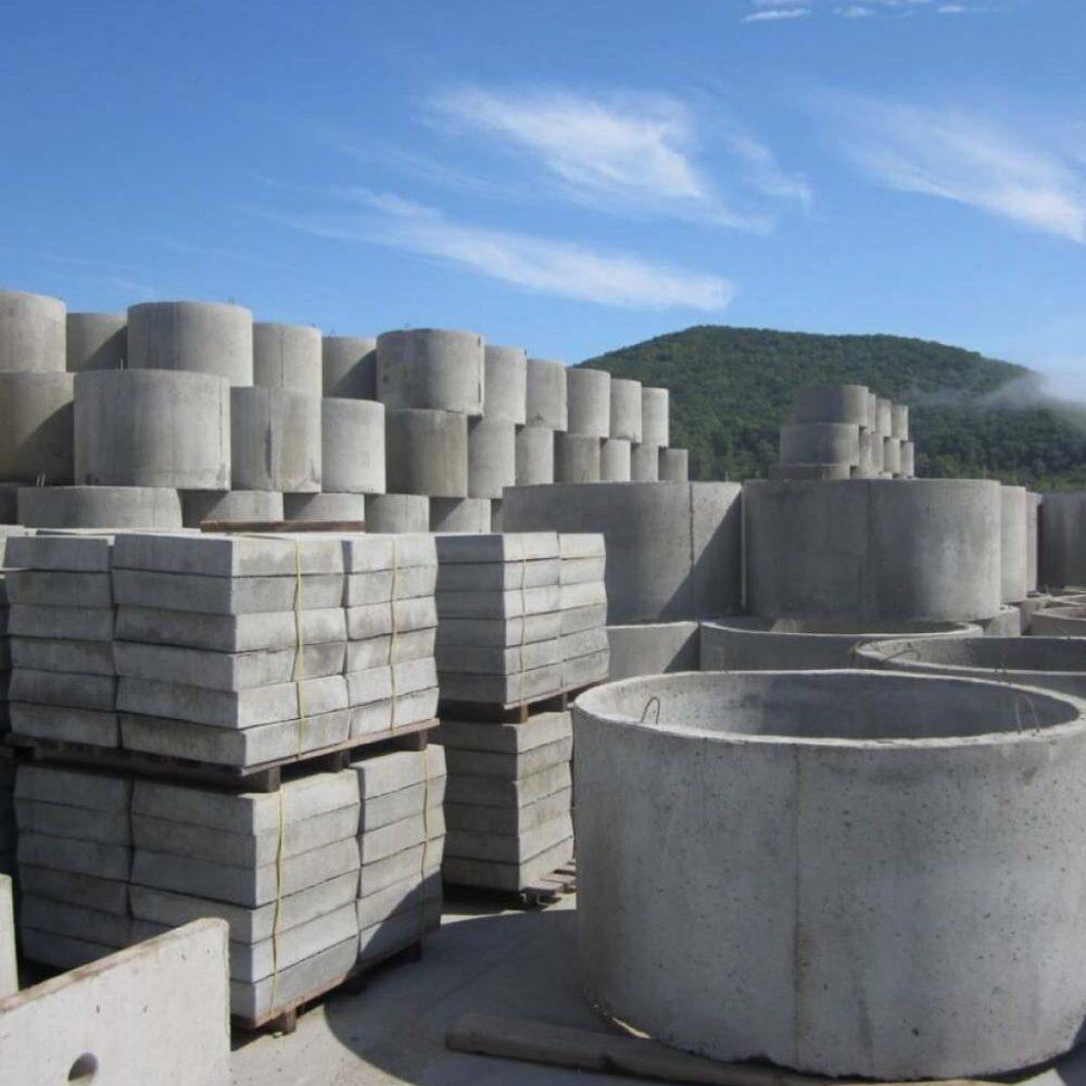 Строительные плиты из бетона