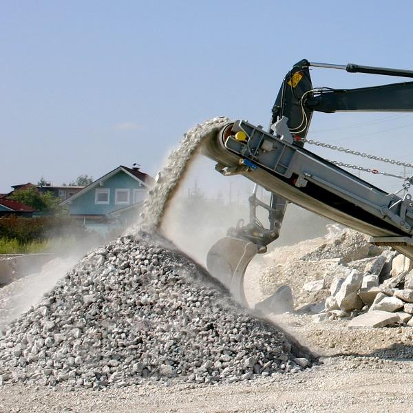 Использование бетонных отходов