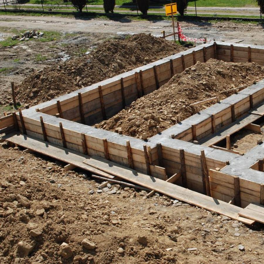 Как построить ленточный фундамент без помощи специалистов